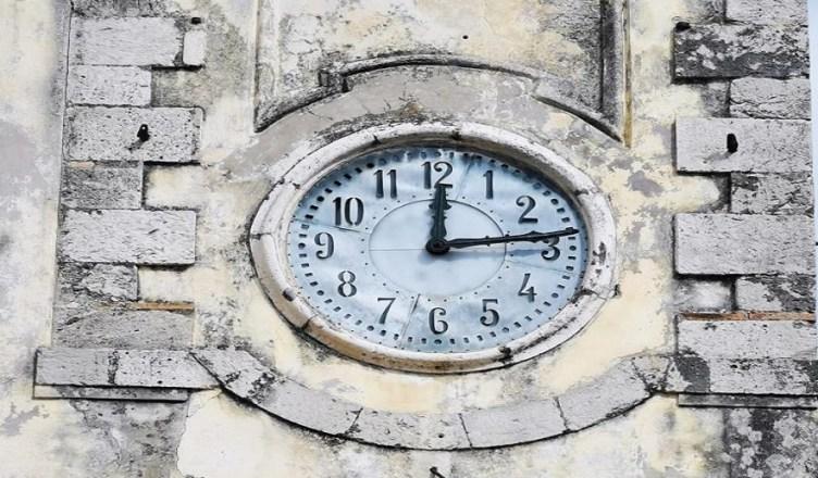 Boville orologio campanile
