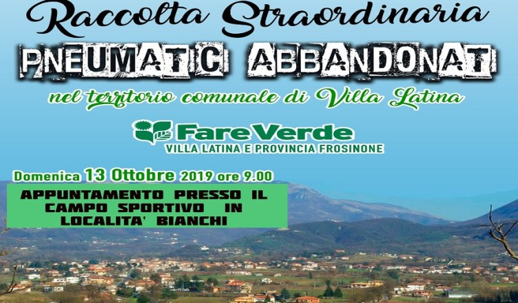 Villa latina RACCOLTA STRAORDINARIA