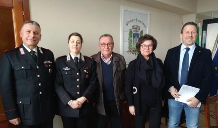 Roccadarce incontro Carabinieri truffe