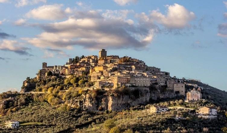 Monte San Giovanni Campano veduta panorama