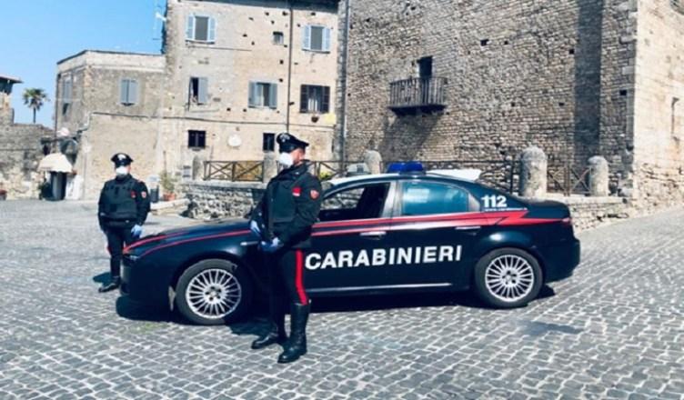 CC carabinieri anagni controlli