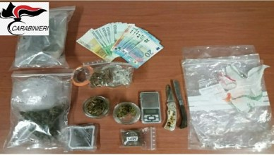 arresti droga fiuggi