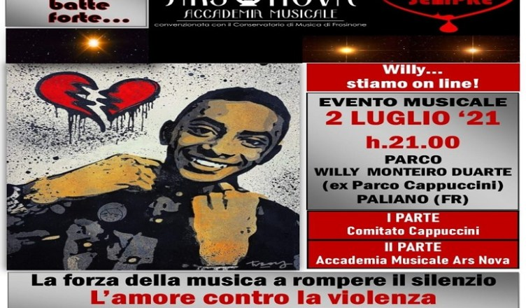 willy evento 2 luglio