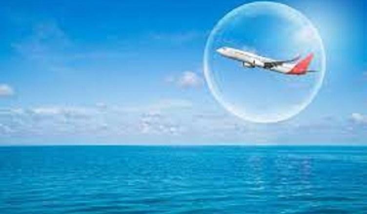aereo volo mare
