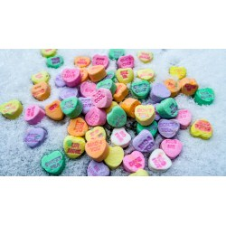 White Day Candy Hearts Ode To Day Candy Heart Lisa Baumert Valentine S Day Candy Sayings Valentine S Day Candy Grams nice food Valentines Day Candy