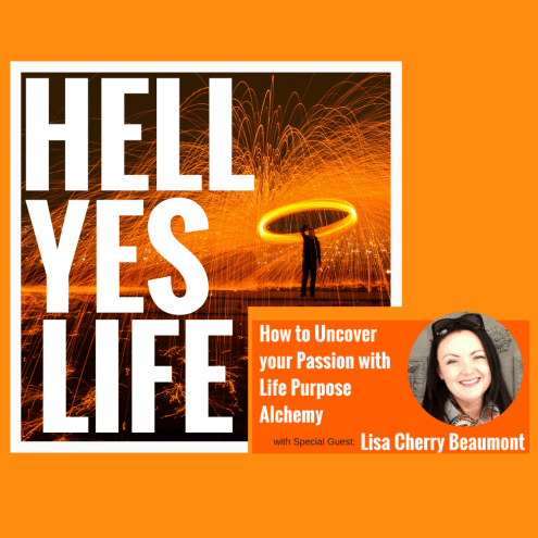 hell yes life podcast cover image
