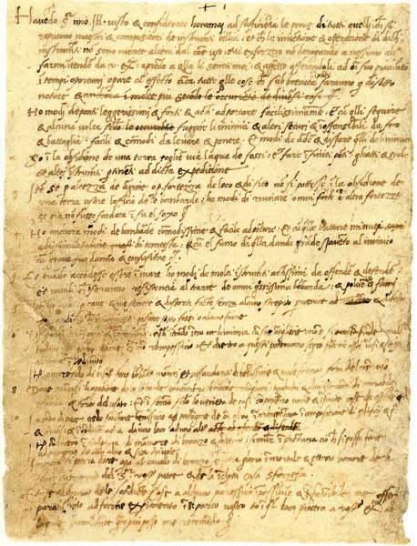 cv manuscrit