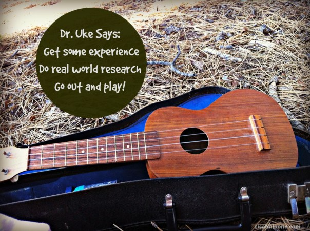 Dr. Uke Says:Get Some Experience Real World Research at LisaNalbone.com