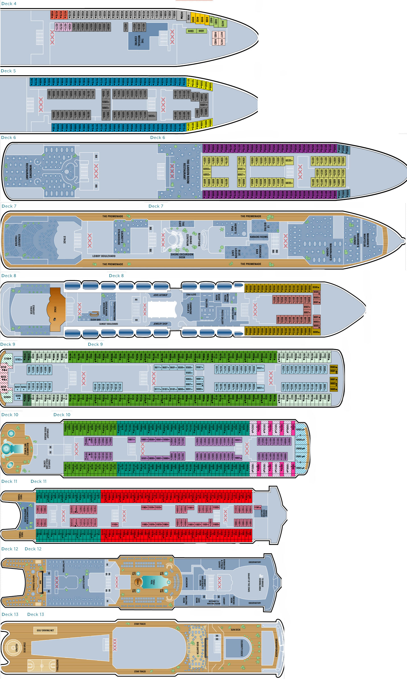 Celebrity silhouette ship deck plans norwegian epic deckplan friv 5 download baanklon Choice Image