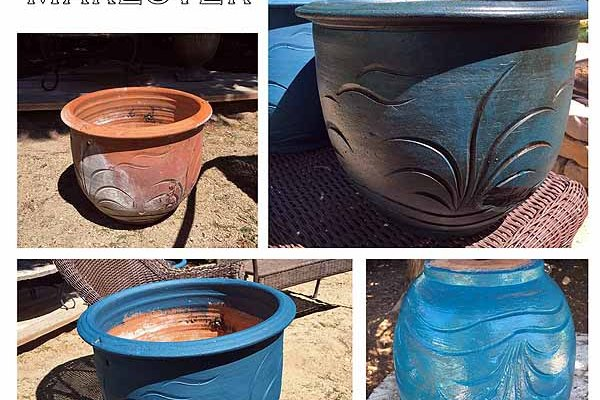 Clay Pot Makeover