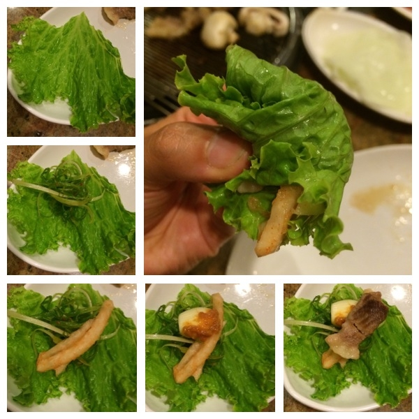 how to eat ssam
