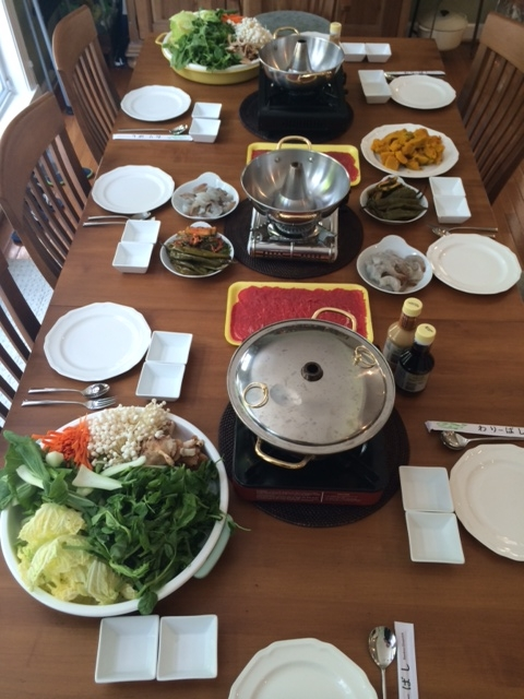 shabu shabu table