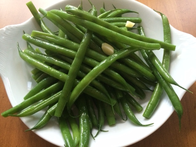 garlic french beans