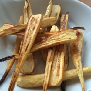 honey roasted parsnips