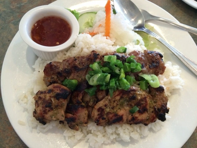 lemongrass meat plate