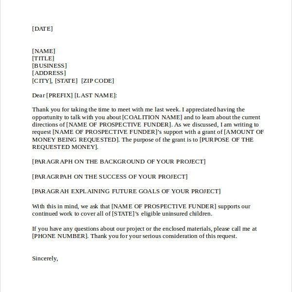 21+ Business Proposal Letter Examples regarding Business Proposal