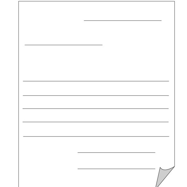 Friendly Letter Format Template Gallery - letter format formal example