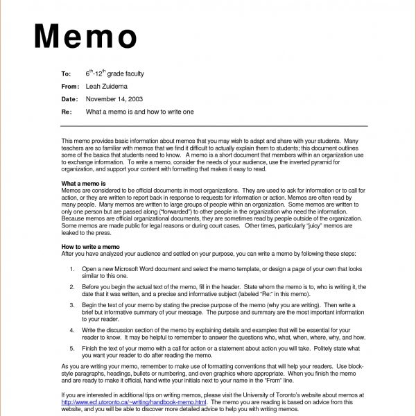 Business Memo Examples Inter Office Sample Wednesday May Template - office memos examples