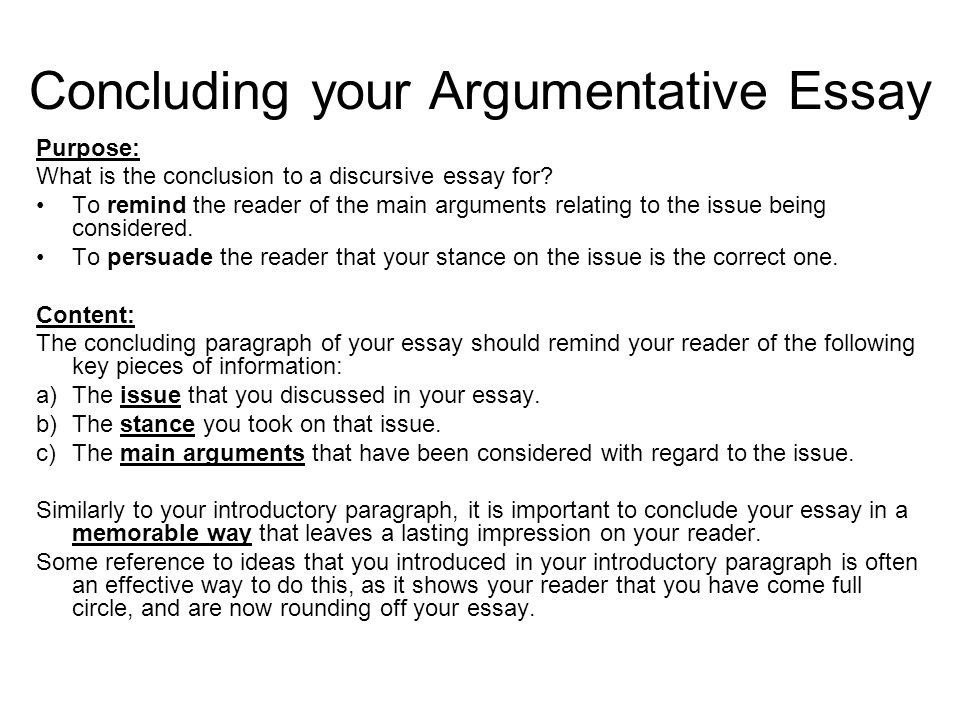 Conclusion Examples For Argumentative Essay Examples and Forms - essay introductory paragraph