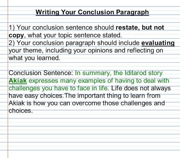 Essay Help Conclusion Paragraph \u2013 Student Essays For College within