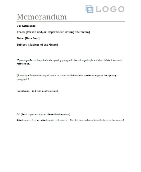 Free Memorandum Template \u2013 Sample Memo Letter inside Memo Format - memo sample in word