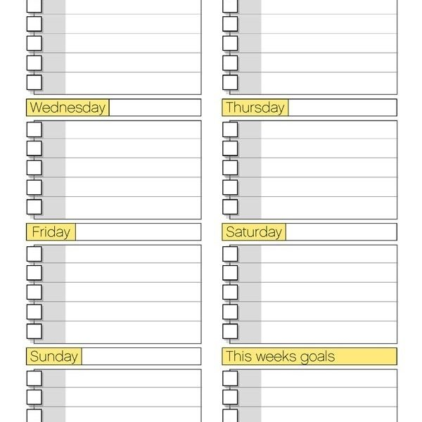Free Printable Daily Routine Schedules  Selimtd Inside Daily