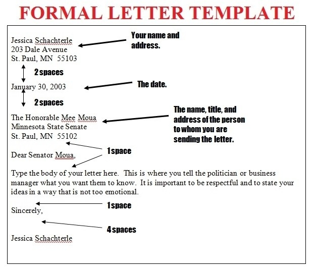 Letter Writing Format Examples and Forms