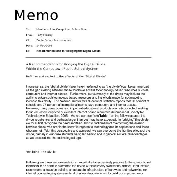 Sample Memorandum \u2013 Asafonggec regarding Informational Memo