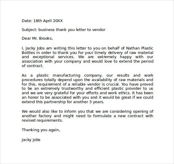 Personal Business Letter Format Examples and Forms