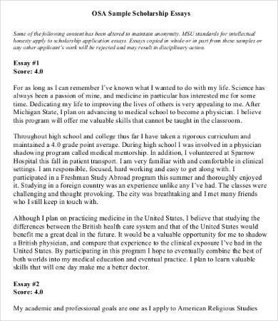 Scholarship essay format (order an essay inexpensively) \u2013 The Best