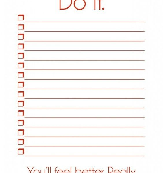 To Do List Template Pdf Free To Do List intended for Free