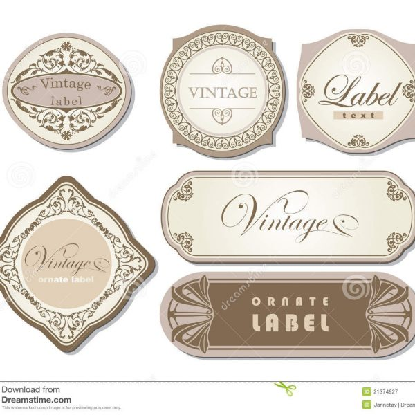 Candle Label Templates Free \u2013 Google Search Templates regarding