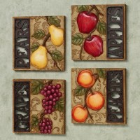 Fruits Kitchen Wall Art | Examples and Forms
