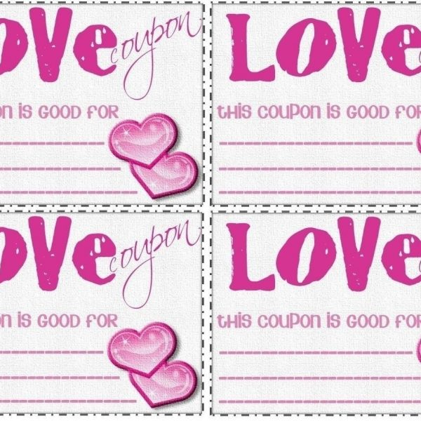 Love Coupon Template Microsoft Word World Of Example in Love