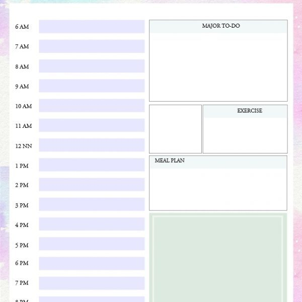Printable Daily To Do List Template To Get Things Done! With in - daily to do template