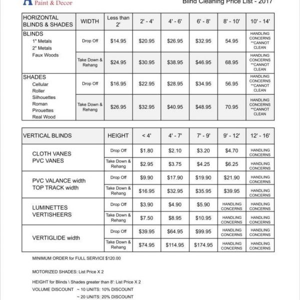 8+ Cleaning Price List Templates \u2013 Free Word, Pdf, Excel Format with