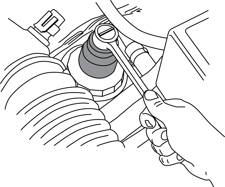 ford diesel fuel filter socket