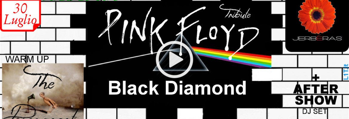 Pink Floyd Tribute Band Black Diamond & The Permanent @ Jerbéras
