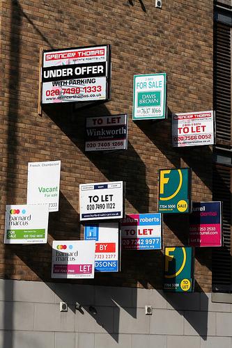Anuncios inmobiliarios que generan visitas