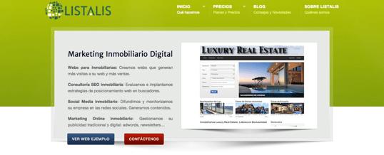 Nueva web corporativa de Listalis
