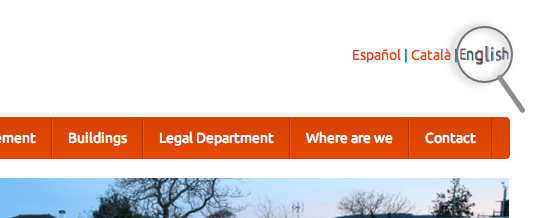 Las webs de Listalis ahora también en inglés