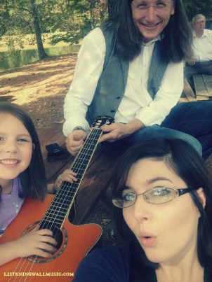 Just another beautiful day of playin' and singin'
