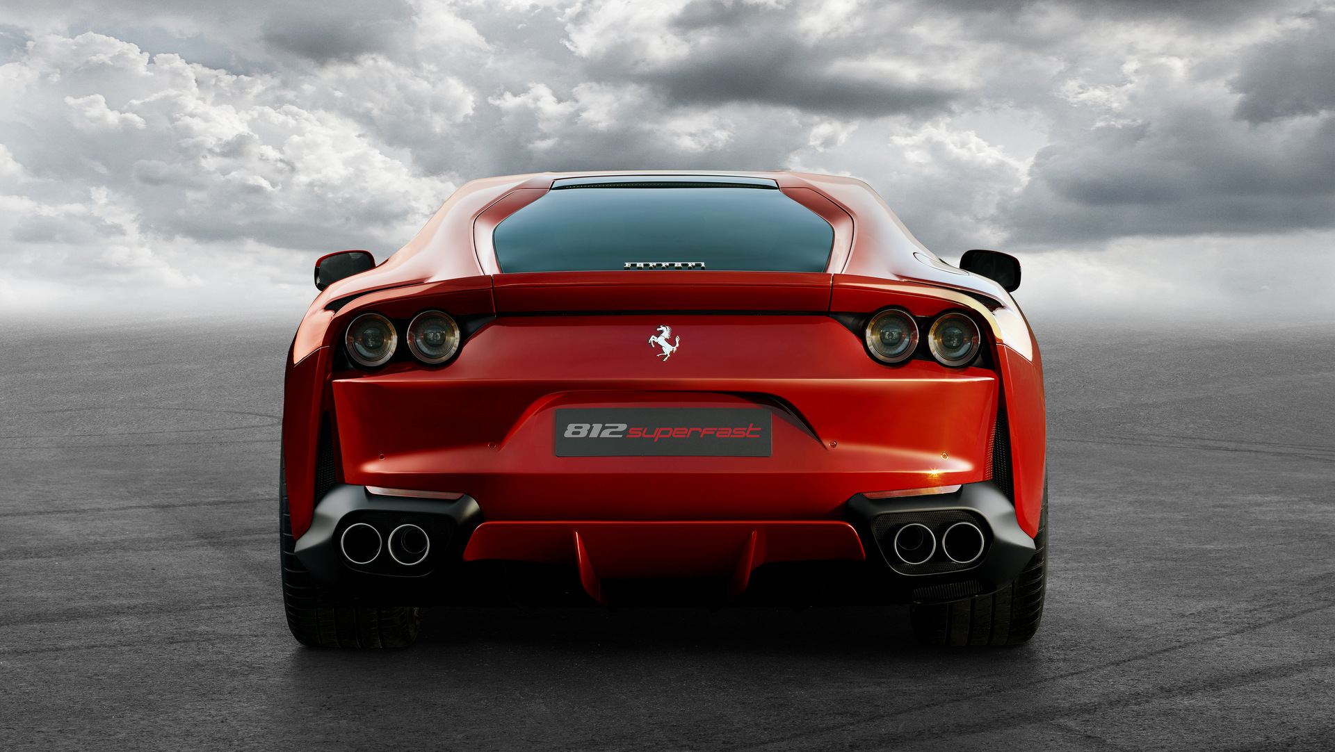 Windows 7 3d Desktop Wallpapers Free Download Ferrari 812 Superfast Car Image Wallpaper