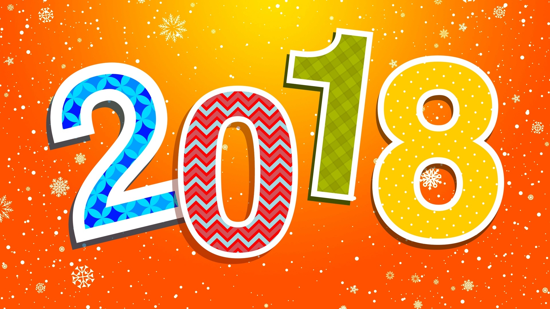Sweet 3d Hd Wallpaper 2018 Colorful New Year Hd Background Wallpaper 1920x1080