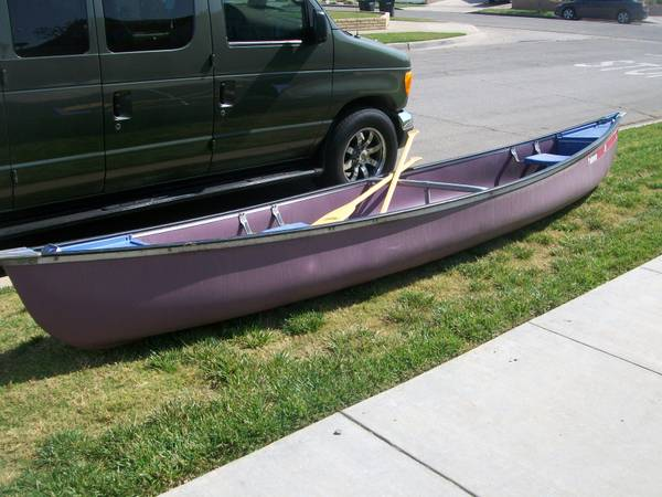 Orange Coleman Canoe For Sale