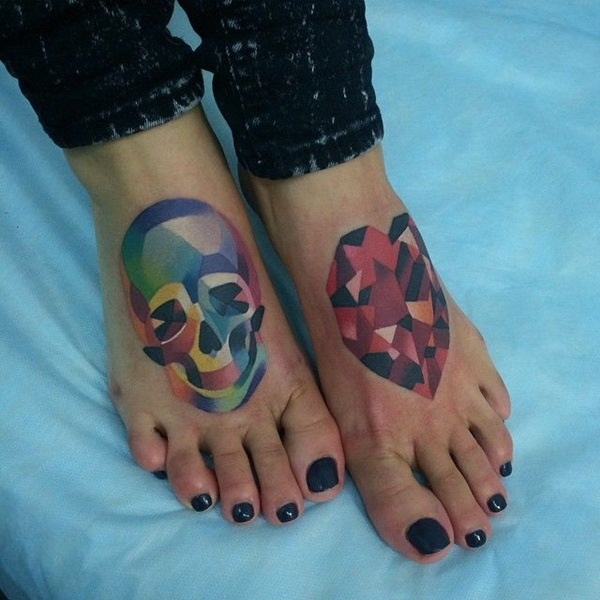 Inked Girl Wallpaper 100 Gorgeous Foot Tattoo Design You Must See