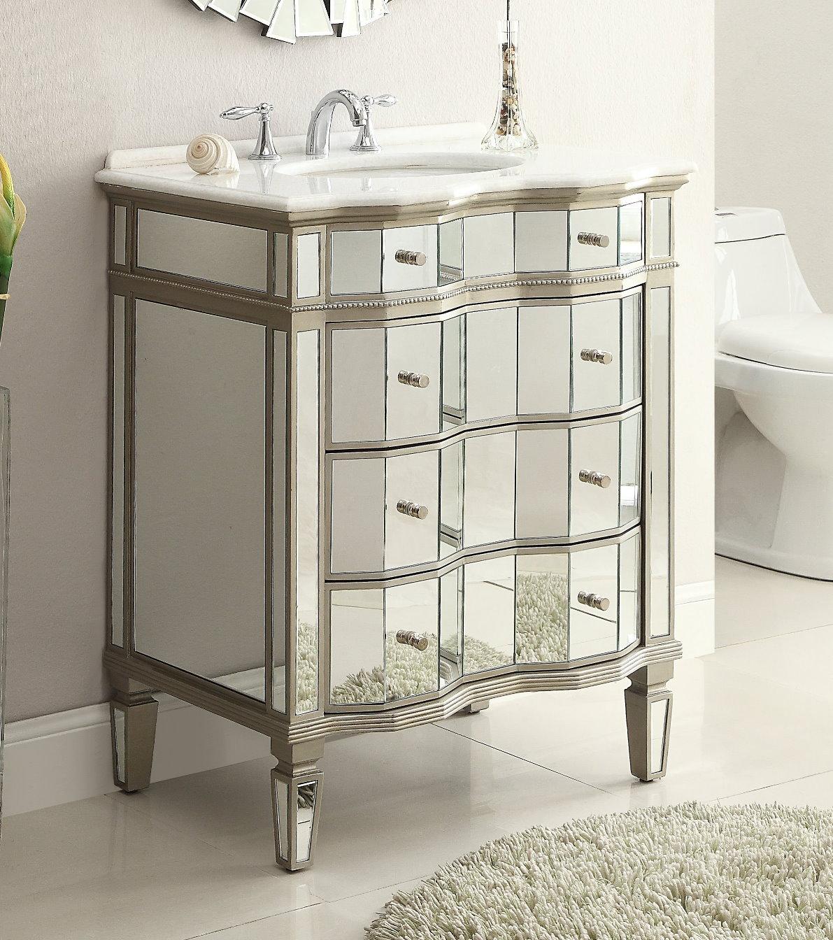 Adelina 30 inch mirrored bathroom vanity cabinet mirror adelina 30 inch mirrored vanity cabinet mirror