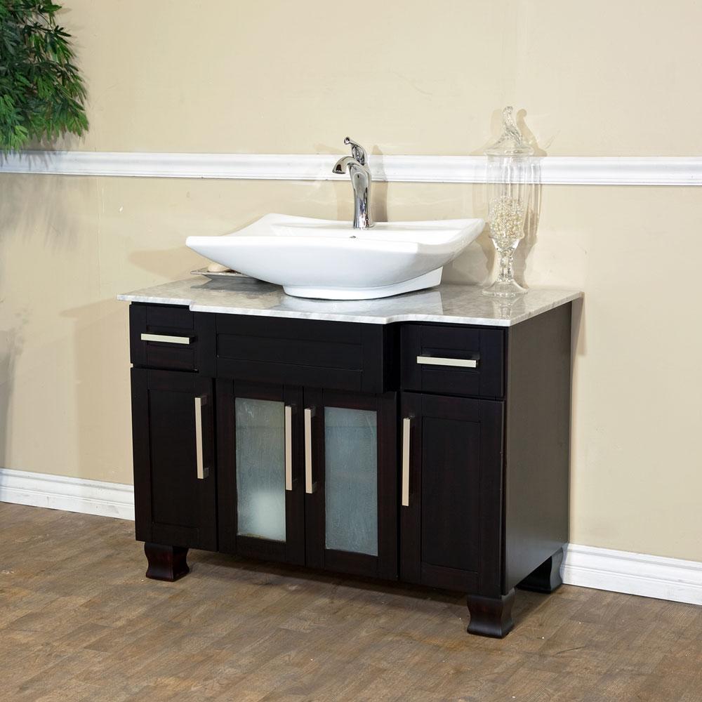 Bellaterra home 604023b single sink bathroom vanity