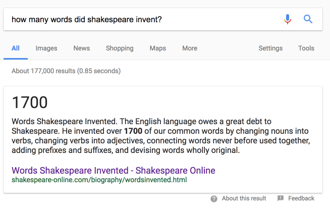 The 422 Words That Shakespeare Invented - LitCharts