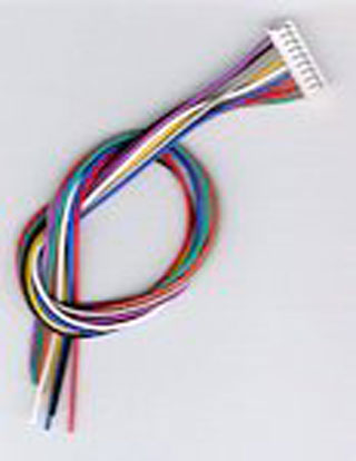 JST 9-pin Wire Harness by Digitrax \u2013 Five Pack \u2013 #245-DHWH